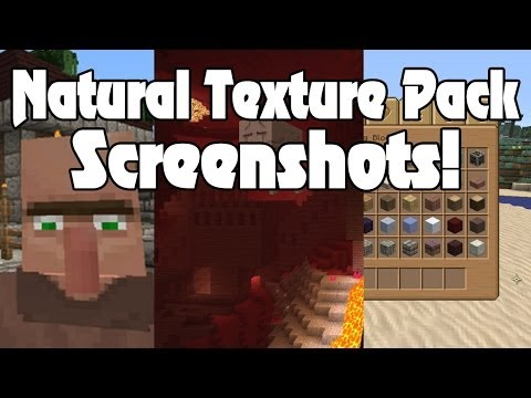 NEW Natural Texture Pack Screenshots! Minecraft Xbox 360 Edition!