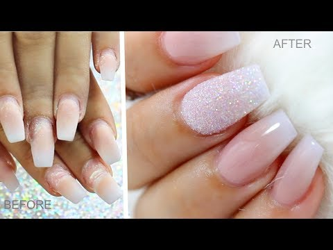 How To Back Fill/Repair Lifted Nails Like a PRO
