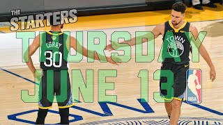 NBA Daily Show: June 13 - The Starters