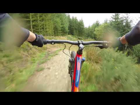 Voodoo Zobop at Llandegla Go Pro 5 and Karma Grip [Full Sus Mountain Bike]