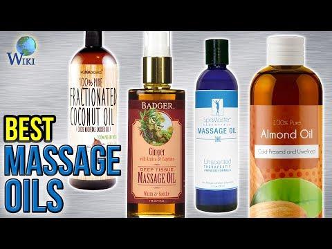 10 Best Massage Oils 2017