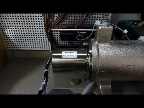 Inside FT-IR:  FT-IR mirror ACTUATOR in ACTION ...different scan speeds & spectrometer resolutions