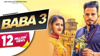 Baba 3 : Masoom Sharma | Anjali Raghav, MK Chaudhary | New Haryanvi Songs Haryanavi 2019 | Mhara Tv