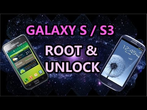 How to easily Unlock & Root Galaxy S / S3 - Without Code -  For Free !! [HD]