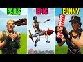 BEST Rocket Ride EVER FAILS Vs EPIC Vs FUNNY Fortnite Funny Moments Battle Royale
