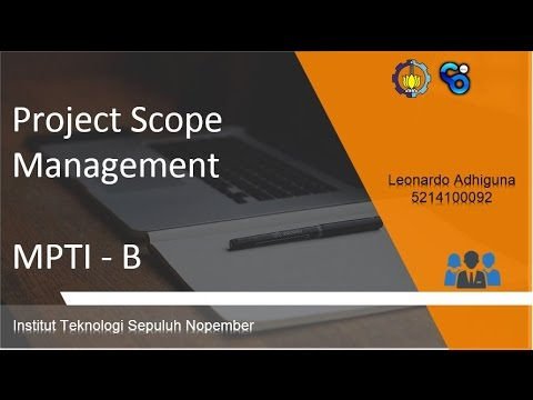 #5 Project Scope Management - MPTI