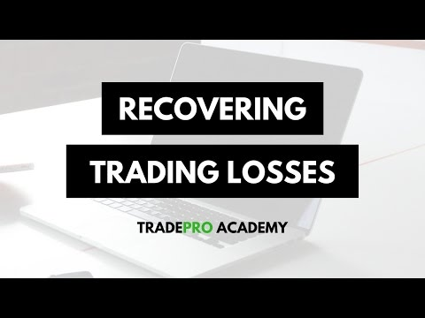 Stop Losing Money Trading and Recover your Account