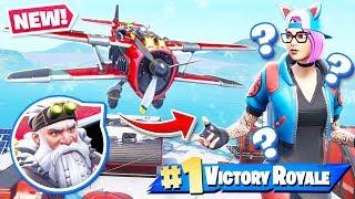 Planes VEHICLE Update *NEW* Season 7 Gameplay in Fortnite Battle Royale