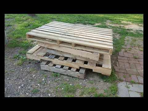 Slide show of building a Pallet bar