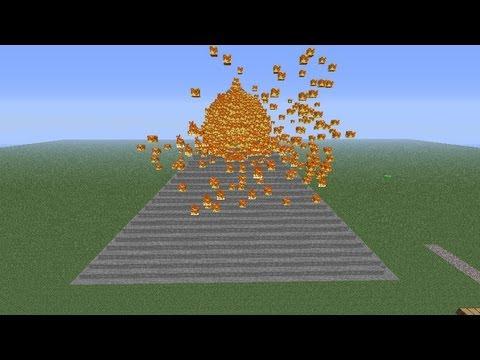 Minecraft - Best Volcano Eruption Ever (Mod)