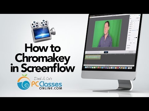 How to Chromakey in Screenflow