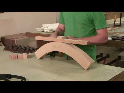 Woodworking Information : How to Bend Wood to Make Furniture
