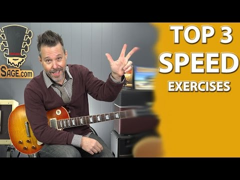 3 QUICK and Effective Guitar SPEED Building Exercises