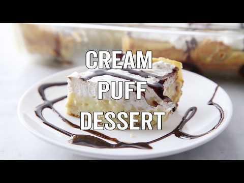 How to make: Easy Cream Puff Dessert