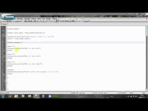 Understanding Java   Switch Statement   Tutorial #10
