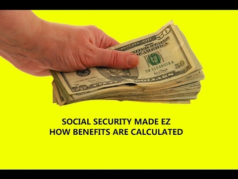 How Social Security Benefits Are Calculated