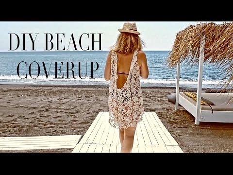 DIY   SUMMER BEACH COVERUP   SZILVIA BODI