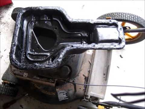 Removing and resealing engine oil pan Toyota Corolla 98-02/Any car without gasket.