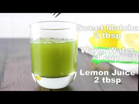 Iced Lemon Matcha Latte