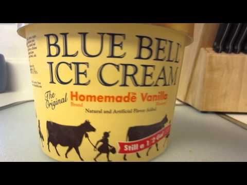 Blue Bell Vanilla Ice Cream Review