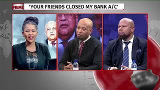 Duduzane Zuma takes on Gordhan