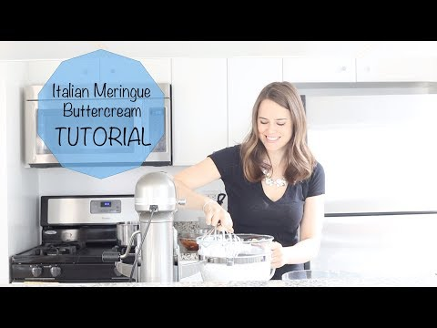 Italian Meringue Buttercream Video Tutorial