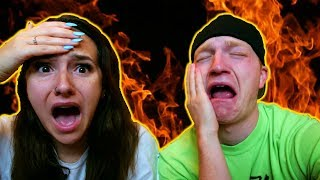 Download MYSTERY HOT WING CHALLENGE Video