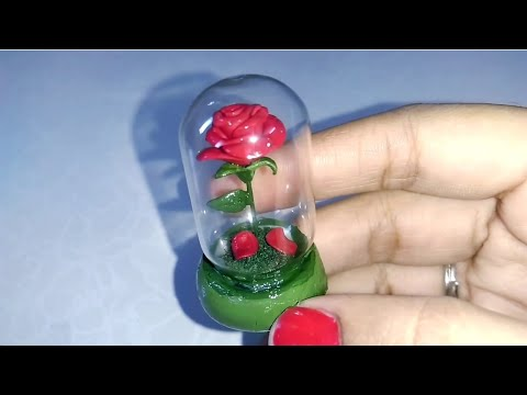 Beauty and the Beast Enchanted Rose tutorial | DIY Enchanted Rose