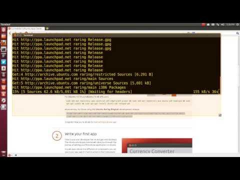 Ubuntu 13 04 Install Qt Creator and SDK