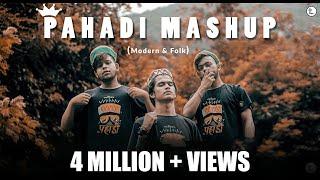 Modern & Folk Pahadi Mashup||Gadwali||Himanchali||Kumaoni||Jonsari||13 Songs one Beat||TEAMTORNADO