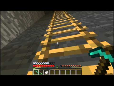 Minecraft- How to make Nether Portal in Survival Mode