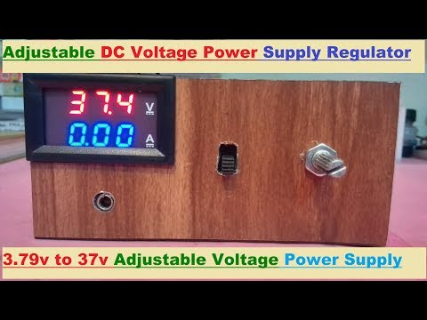 How To Make DC Step-Up Power Supply Regulator
