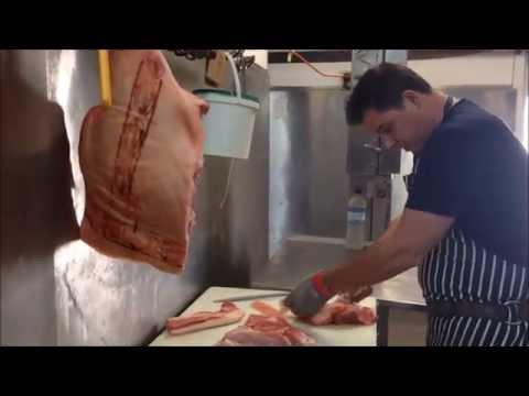 Making Pork Sausages