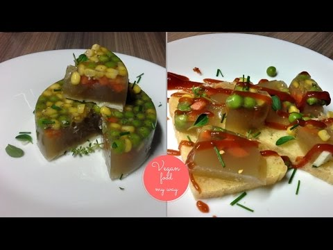 Vegan aspic recipe