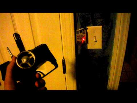 Remote controlled door lock and light (room automation)