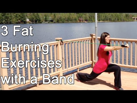3 Fat-Burning Exercises Using ONLY a Band