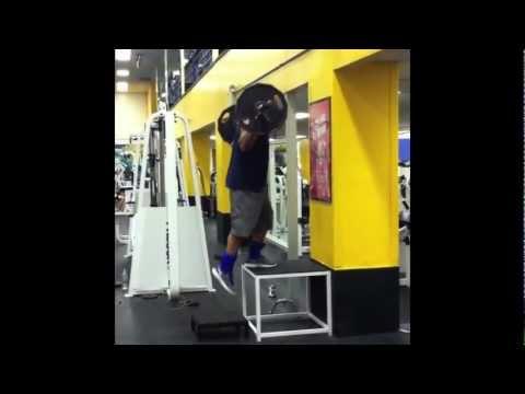 Brooklyn Tank :  Leg / Speed Workout