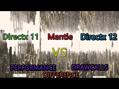 Directx 11 VS Mantle VS Directx 12 3Dmark API Overhead Test R9 280x Catalyst 15.200.1012.2 Win 10TP