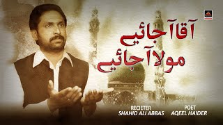Aaqa Aa Jaiye - Shahid Ali Abbas | manqabat Mola Imam Mehdi A.s 2020