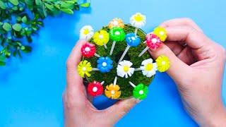 16 EASY PAPER FLOWERS | FLOWER MAKING | DIY #2