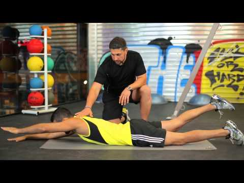 Warehouse Gym Ep 2  Lower Back and Abs for Beginners NEW