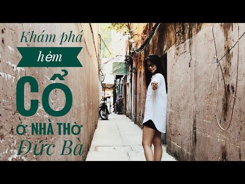 Vlog 2: Khám phá con hẻm cổ ngay nhà thờ Đức Bà    Shot by iPhone X