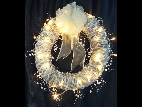 Wedding decorations - Rolled paper sticks. Beautiful wedding garland from twisted paper sticks..