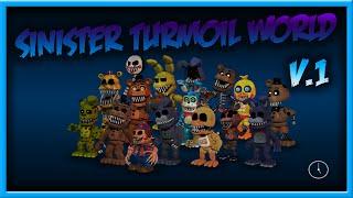 Sinister Turmoil World | Sinister Adventure Animatronics Part 1