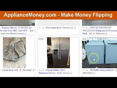 Flipping Appliances - ApplianceMoney.com