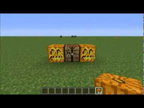 How to Make Jack o' Lanterns in Minecraft
