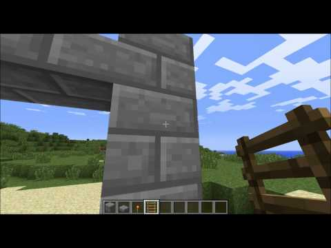 minecraft tutorial series1 ep11 how to build a diving board