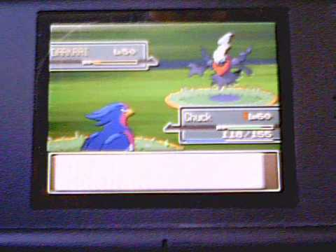 Pokemon Platinum Event: Catching Darkrai [1/2]