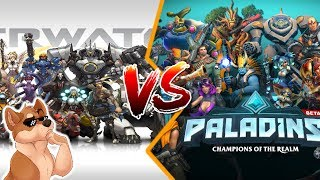 Overwatch vs. Paladins - Which is better?