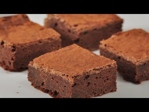 Fudgy Chocolate Brownies Recipe Demonstration - Joyofbaking.com